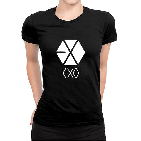 Image of EXO -Half Sleeve Black