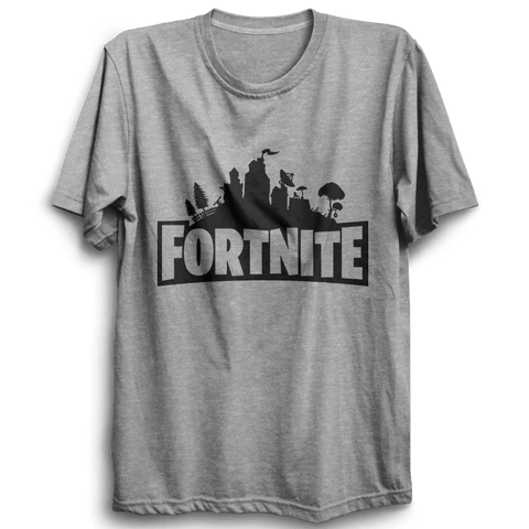 Image of Fortnite -Half Sleeve Grey