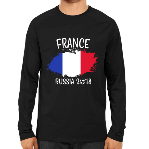 France World Cup 2018 -Full Sleeve Black