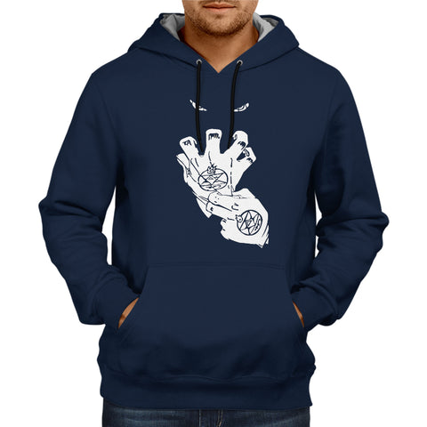 Image of Full Metal 2 Hoodie Navy Blue