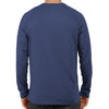 Image of Men's Basic Plain Navy Blue Full Sleeve