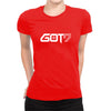 Image of GOT7 -Half Sleeve Red