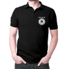 Image of Germany Logo- Polo T-shirt Black