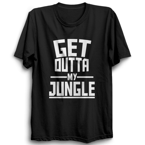 Image of LOL-03 Get Outta My Jungle Half Sleeve Black