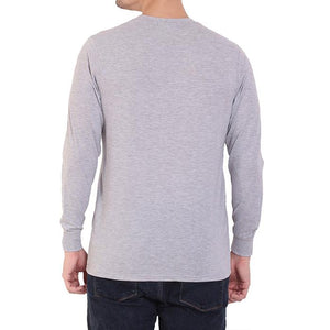 Men's Basic Plain Grey Full Sleeve