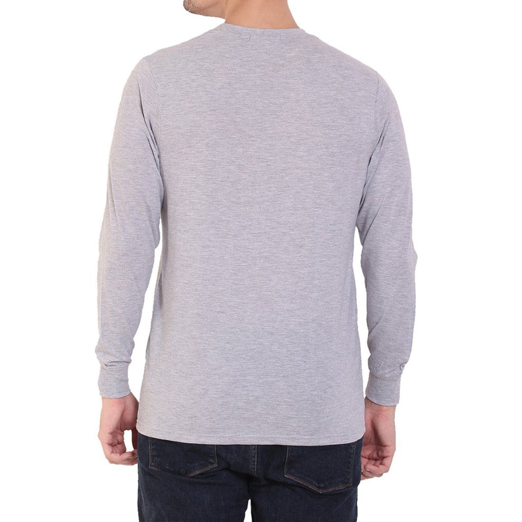 CRIC 38- Eat Sleep Cricket Repeat Full Sleeve Grey
