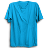 Image of Basic Plain Turquoise Blue Half Sleeve