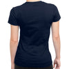Image of Eat Sleep K-POP Rinse Repeat Half Sleeve Navy Blue
