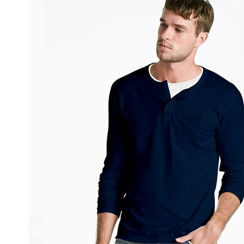 Stylish Henley T-shirt