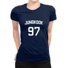 Image of Jungkook Half Sleeve Navy Blue