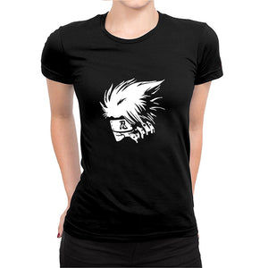 Kakashi -Women's Half Sleeve Black