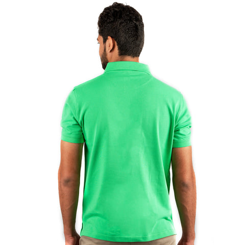 Men's Basic Polo Light Green T-shirt