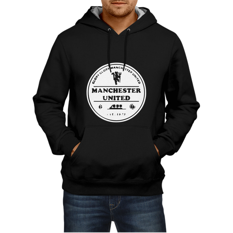 Manchester United 2 - Black Hoodie