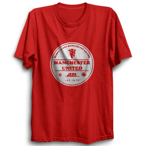 Image of Manchester United 2 - Half Sleeve Red