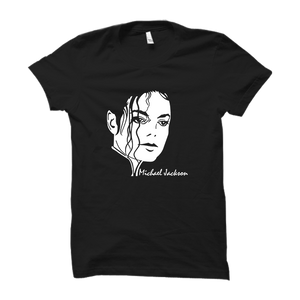 Michael Jackson -Half Sleeve Black