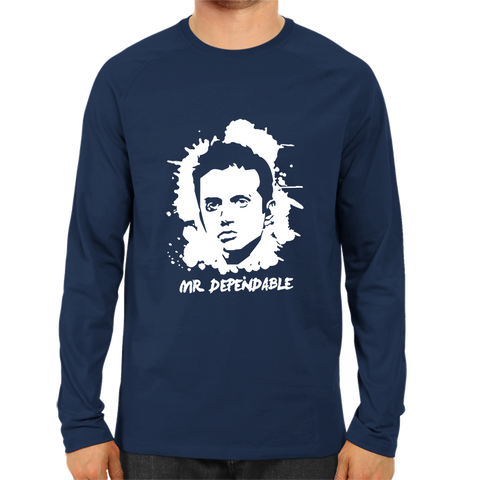CRIC 11- Dravid Mr.Dependable -Full Sleeve-Navy Blue
