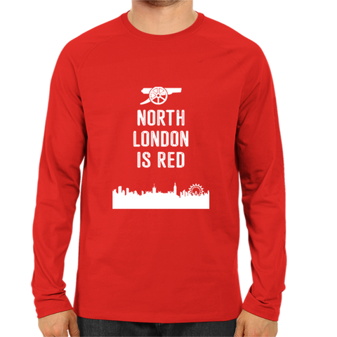 Image of North London Is Red -Full Sleeve Red