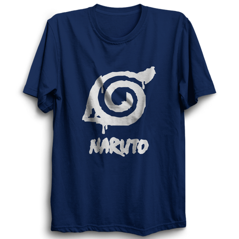 Naruto -Half Sleeve Navy Blue