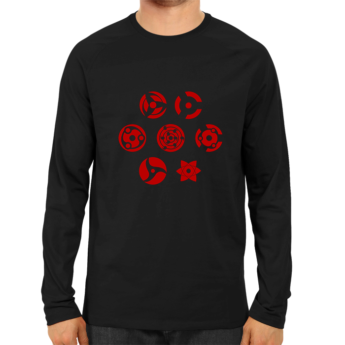 Naruto Sharingan New Full Sleeve Black