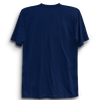 Image of Basic Plain Navy Blue Half Sleeve