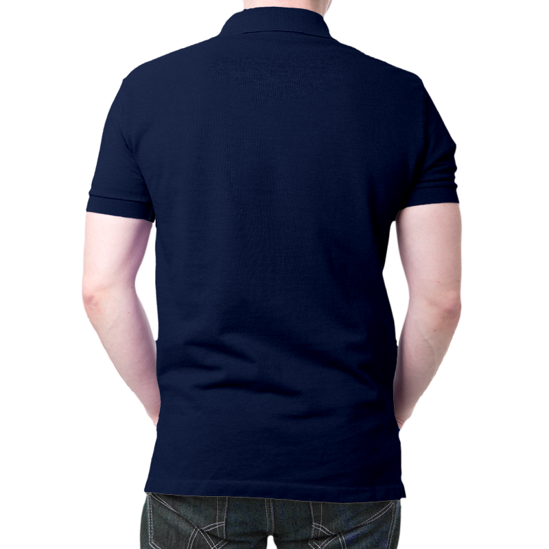 Indian Navy Polo T-Shirt Navy Blue