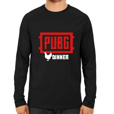 PUBG-04-PUBG Dinner -Full Sleeve Black