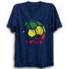 Image of PORTUGAL 2018  -Half Sleeve Navy Blue