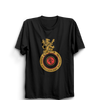 Image of IPL 08 B- Royal Challengers Bangalore Half Sleeve Black