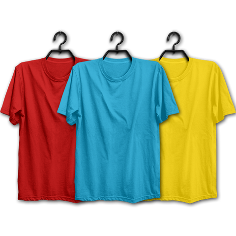 RSY Combo Half Sleeve T-shirts(Pack of 3)