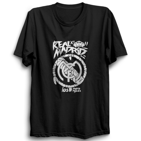 Real Madrid - Half Sleeve Black
