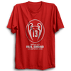 Image of Real Madrid Champion -Half Sleeve Red