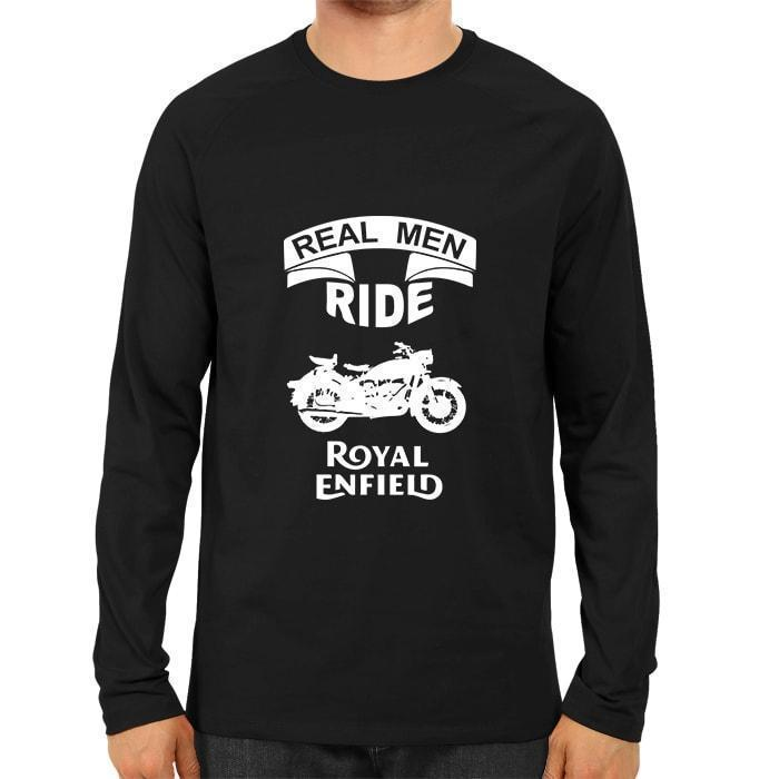 Real Men Ride -Full Sleeve Black