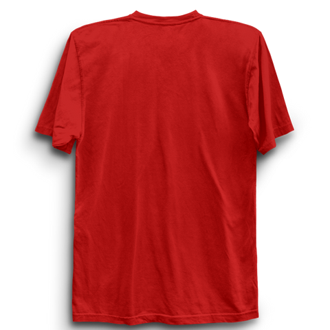 Basic Plain Red Half Sleeve