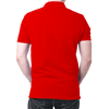 Image of Portugal Logo- Polo T-shirt Red