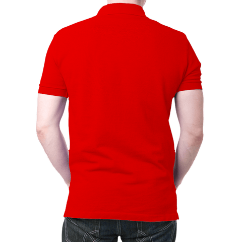 England Logo- Polo T-shirt Red