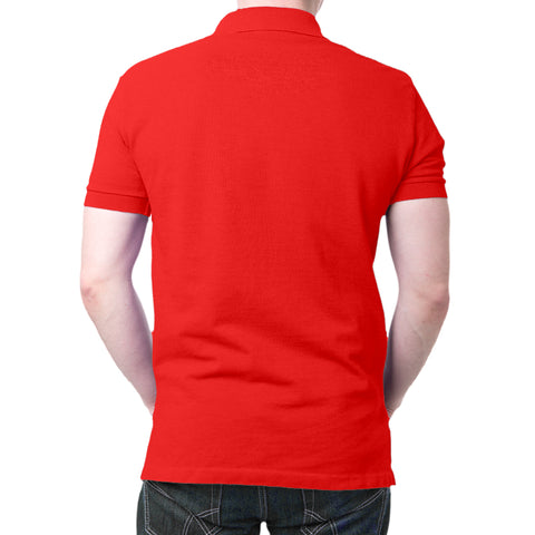 Image of Jai Shri Ram - Polo T-shirt Red