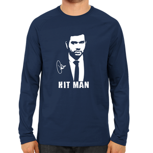 CRIC 22- Rohit Sharma Hit Man -Full Sleeve-Navy Blue