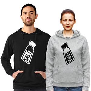 Salt and Peppa - Hoodie Black/Grey