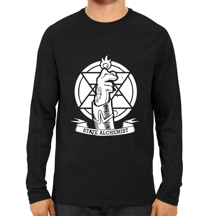 State Alchemist Full Sleeve Black