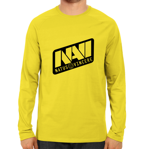 Team Natus Vincere-Full Sleeve Yellow