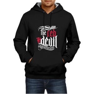 The Red Devils-Manchester United - Black Hoodie