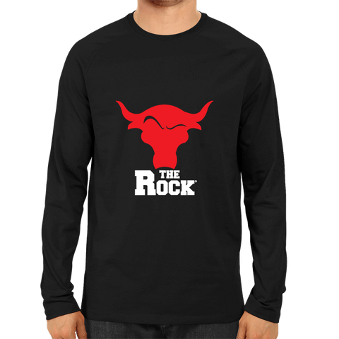 The Rock -Full Sleeve Black