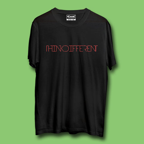 Image of Think Different T-Shirt Black