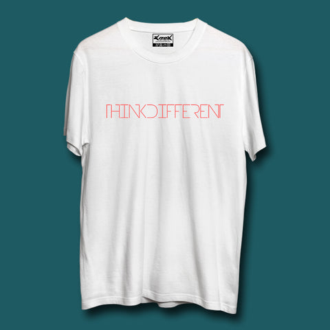 Image of Think Different T-Shirt White