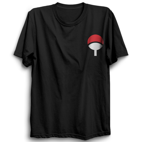 Image of Uchiha Clan Logo T shirt