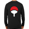 Image of Uchiha Clan Logo Full Sleeve Black