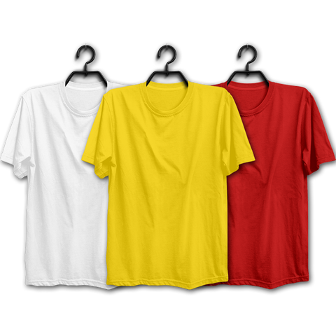 Image of WYR Combo Half Sleeve T-shirts(Pack of 3)