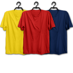 YRN Combo Half Sleeve T-shirts(Pack of 3)