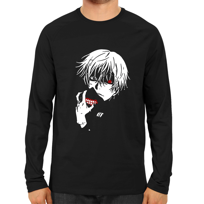 Kaneki Unmasked Full Sleeve Black