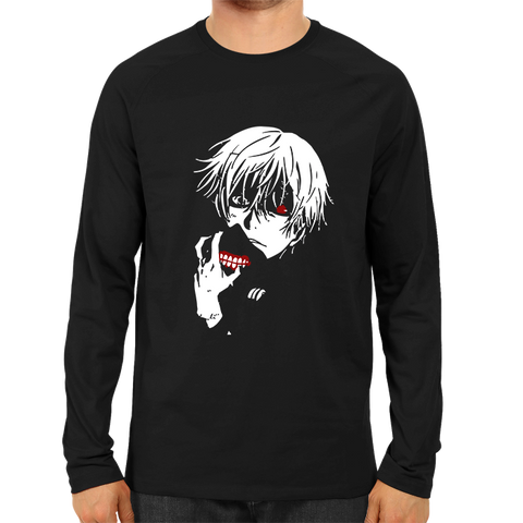 Image of Kaneki Unmasked Full Sleeve Black